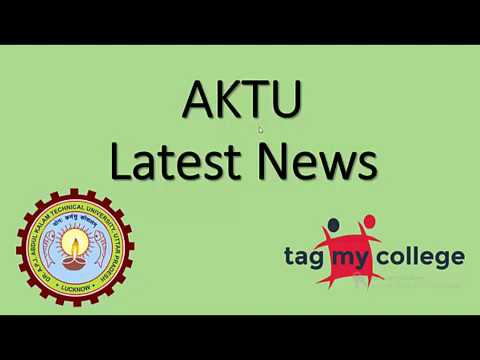 AKTU Latest News | Dr. APJ Abdul Kalam University | Tagmycollege.com