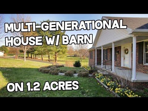 VIDEO - Multigenerational property - multi-generational house for sale Danville Kentucky