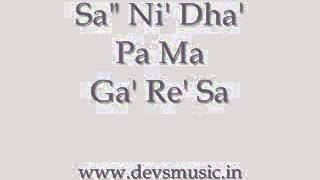 Bhairavi Thaat Hindustani Classical Vocals www.devsmusic.in Devs Music Academy