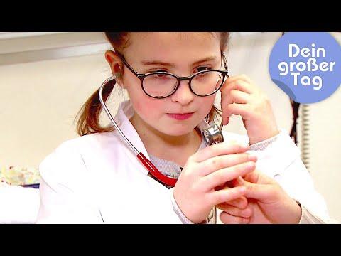 Hilfe für die Kleinsten - Amelie als Kinderärztin   Dein großer Tag   SWR Kindernetz