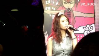 121003 [Fancam] G.NA @ Channel [V] Thailand (studio) Part 6