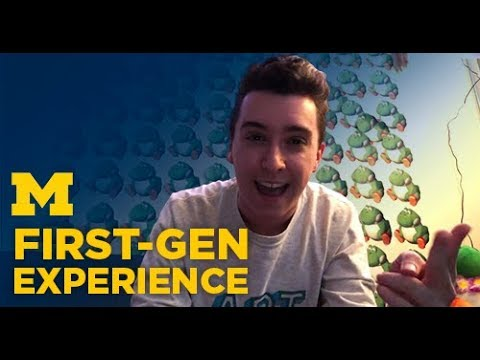 University Of Michigan Student Vlog: First-Gen Experience