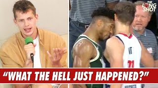 Moe Wagner Breaks Down Getting Headbutted By Giannis Antetokounmpo
