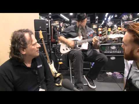 NAMM 2015: Jim Dunlop Mini Cry Baby Wah In Action - The NEW Cutest Wah Ever