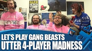 Let's Play Gang Beasts on PS4!