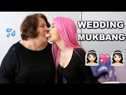 Lesbian Wedding Menu Tasting MUKBANG thumbnail