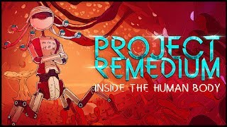 INSIDE THE BODY FIGHTING DISEASE AS A NANOBOT! - Project Remedium Gameplay