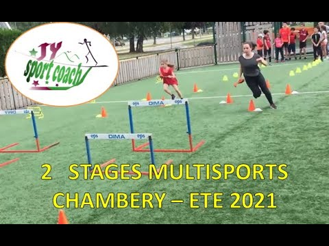 2 Stages enfants multisports 2021 -  BASSIN CHAMBERIEN