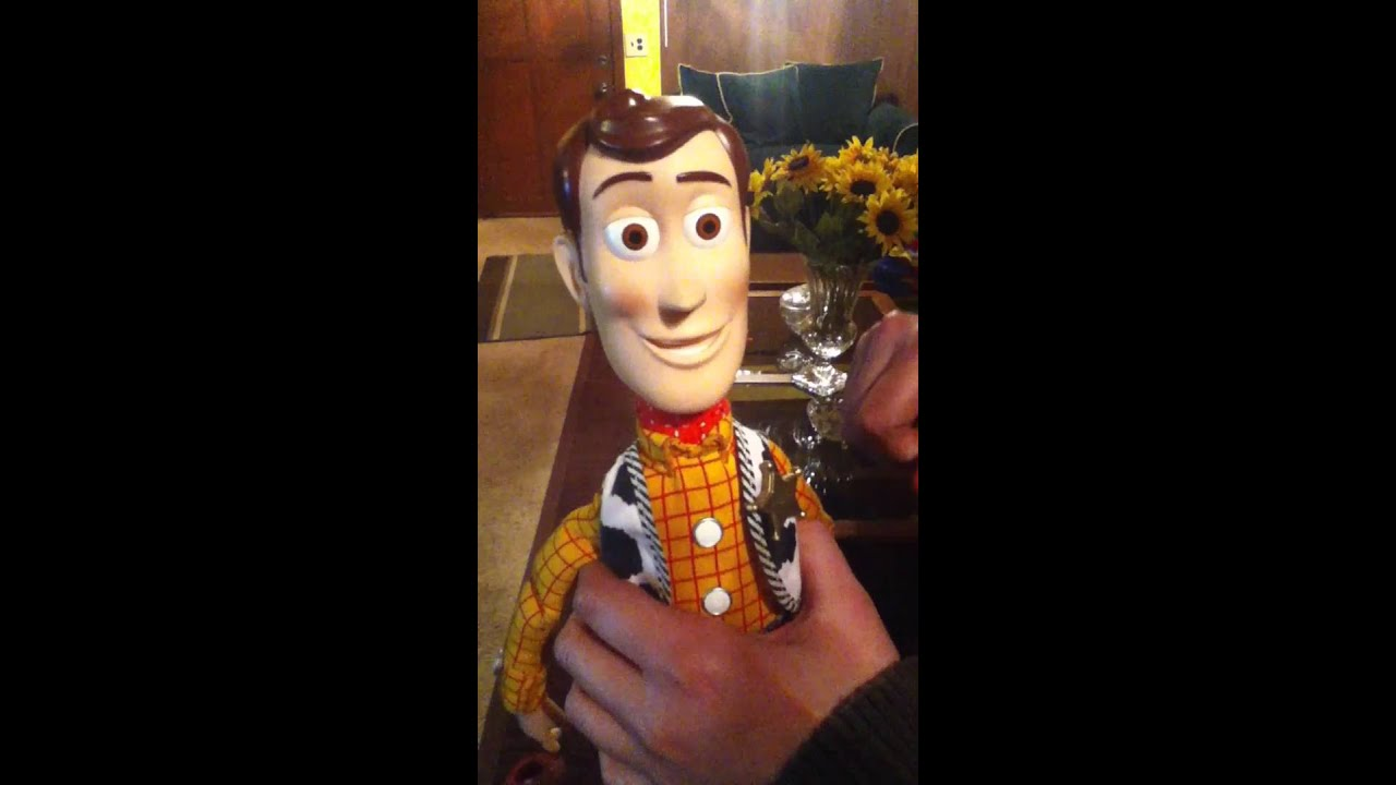 Woody habla youtube for Espejo que habla juguete