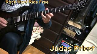 Judas Priest / Rock Hard Ride Free (Guitar Cover)
