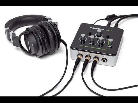 Samson QH4 4-Channel Headphone Amplifier Product Overview