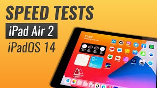 iPadOS 14 on Pad Air 2: SPEED TESTS with cleared RAM and after reboot