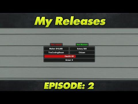 My Releases : Episode 2 : DarkRP 2.5 HUD V1