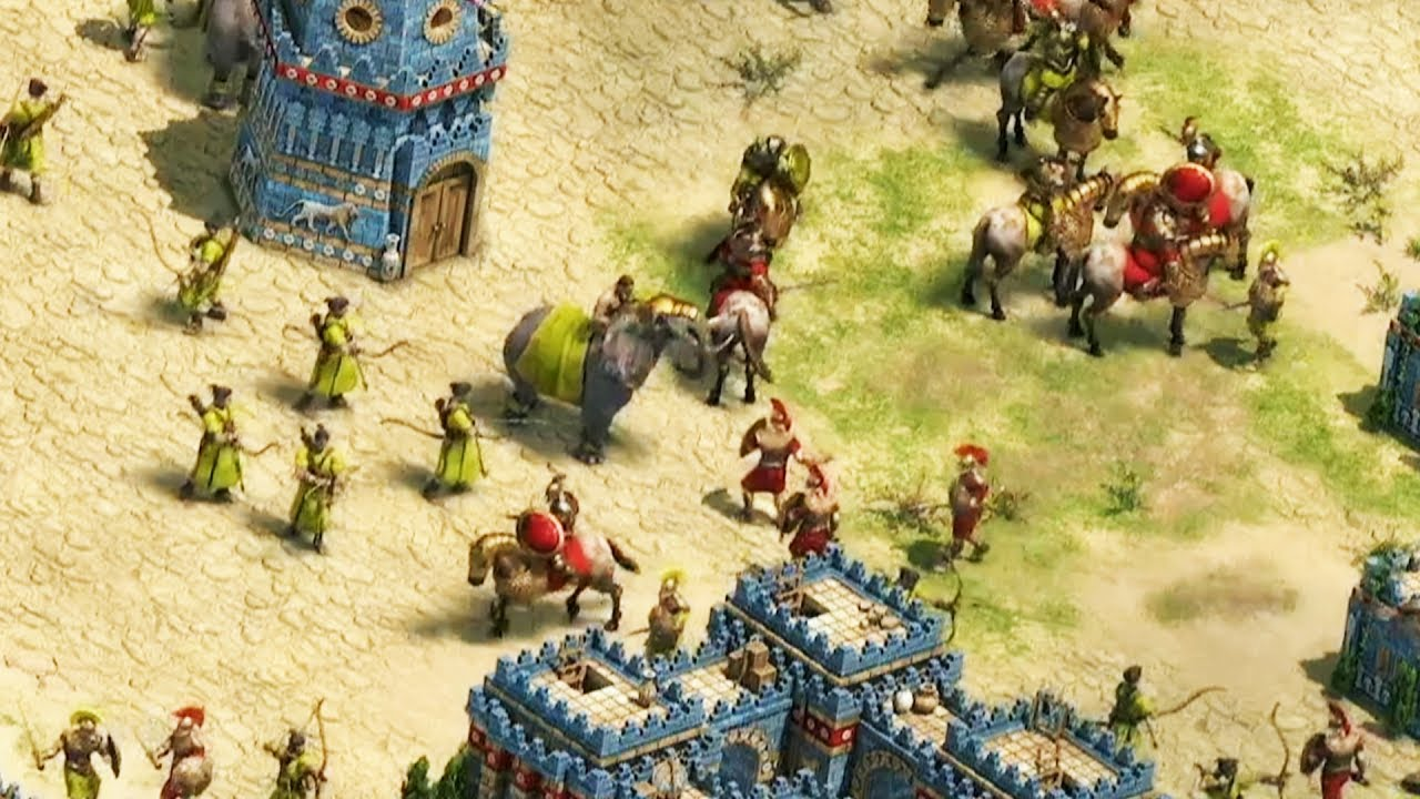 Age of Empires Definitive Edition 4K | E3 2017
