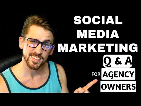Social Media Marketing Q & A For Agency Owners + Mentorship Giveaway