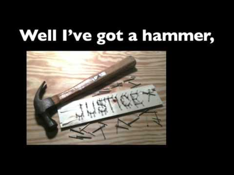 """If I Had A Hammer"" lyrics"