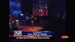 Keri Hilson - Knock You Down - SOS Save Our Selves Help For Haiti Live