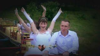 Свадьба прогулка Ирина и Роман июль 2014