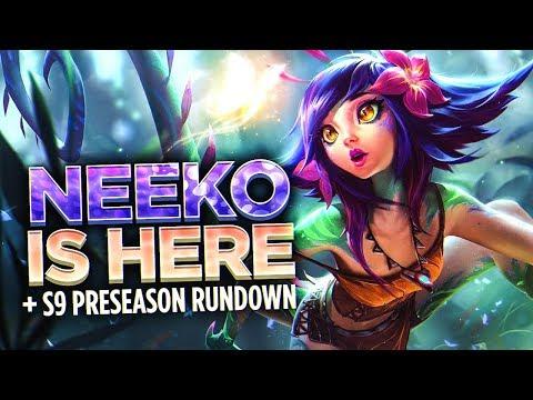 NEEKO IS HERE! - Scarra's S9 Preseason Patch Rundown (Patch 8.23)