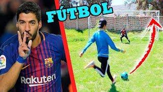 LUIS SUAREZ CHALLENGE ¡Retos de fútbol épicos!