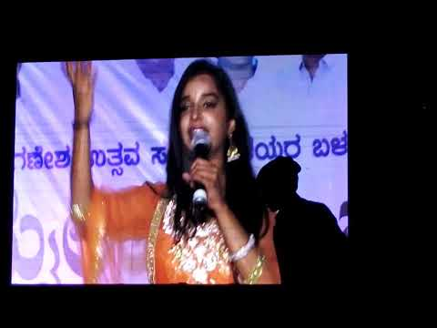 ಎಲ್ಲೋ ಜೆನಿಗಗಿರುವ ಹಾಗೆ  mytri song sung in mylar utsava