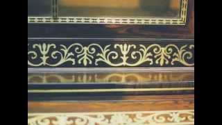 Restoring Brass Inlay On A Regency Secretary Bookcase - Thomas Johnson Antique Furniture Restoration