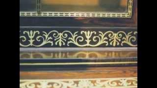 Restoring Brass Inlay On A Regency Secretary Bookcase - Thomas Johnson Antique Furniture Restoration