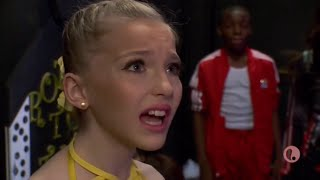 Dance Moms - Brynn's Duet Partner Isn't Ready To Dance And The Moms Start To BLAME Brynn (S6,E23)