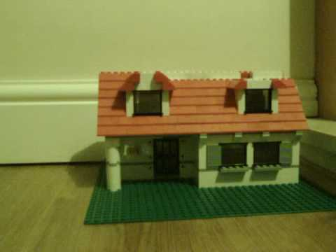Build a lego house in less than a minute