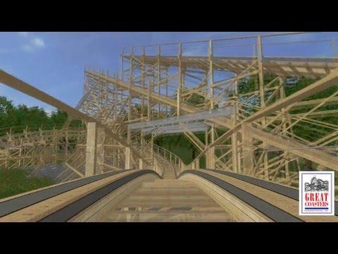 GCI Back Track wooden shuttle coaster concept anouncement IAAPA