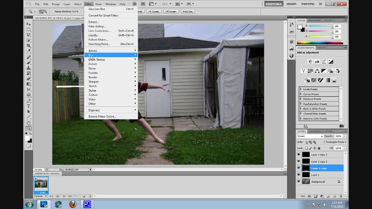 Photoshop cs5 tutorial lightsabers youtube photoshop cs5 tutorial lightsabers baditri Images