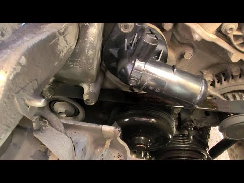 How to replace thermostat on 2013 Chrysler Town & Country