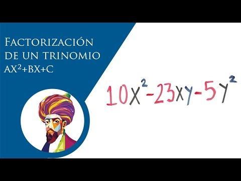 factorización-de-un-trinomio-de-la-forma-ax²-bx-c-(ejemplo-2)-│-baldor