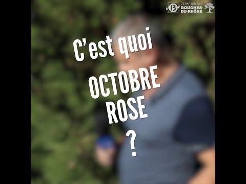 C'est quoi octobre rose ?