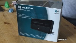 Logitech Squeezebox Classic Unboxing - June 2013