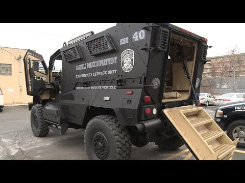 How NJ Police Are Using Surplus Military Equipment