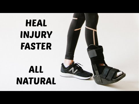 How To Heal Injuries Faster. 4 All Natural Therapies that Work.