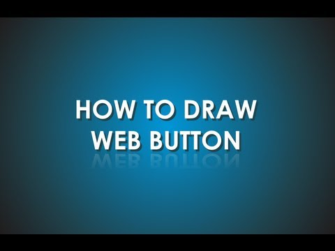 Corel Draw tutorial - how to draw 3D web button (icon)