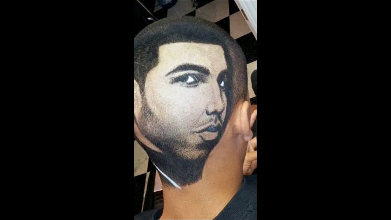 Drake hair portrait by Rob The Original - YouTube