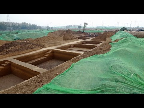 Site of Ancient County Town Found in Beijing
