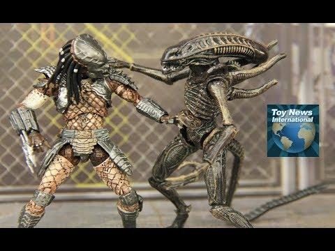 Predator 2 City Hunter And Shadow Predator 1:18 Scale Hiya Toys Figures Review