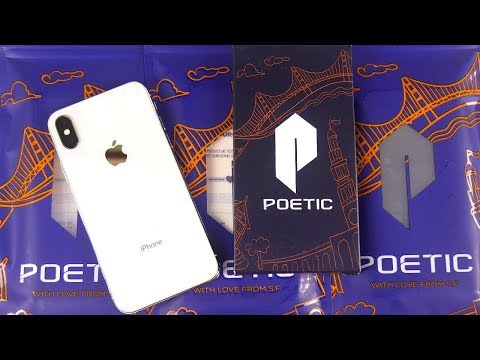 iPhone X Poetic case lineup review!