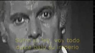 Je me suis fait tout petit - Georges Brassens - Subtitulado español