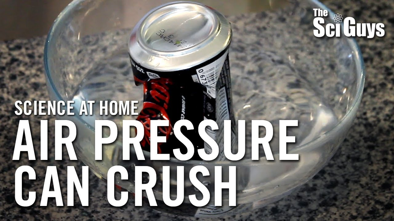 soda can experiment gas law