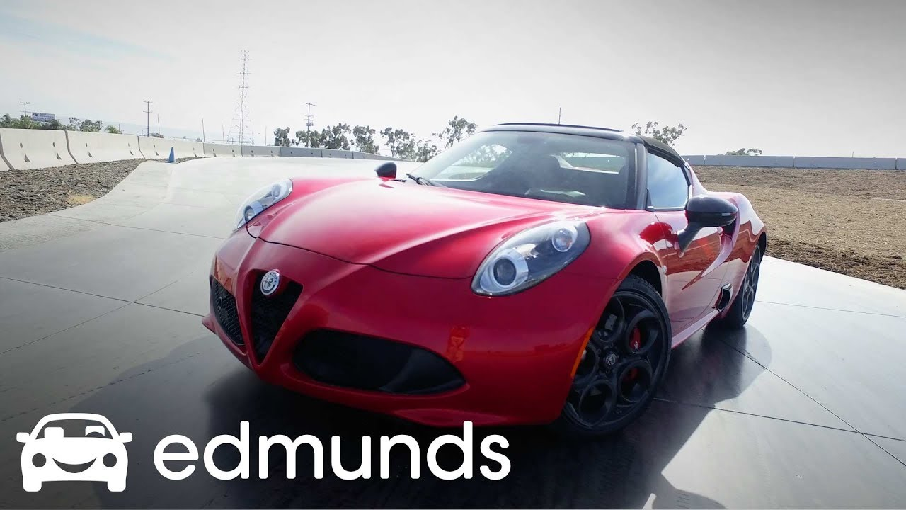 Alfa Romeo C Spider Review Track Test Edmunds YouTube - Alfa romeo spider new model