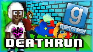 Gmod Deathrun Funny Moments Super Deathrun Bros. Edition! Funny Fails, Deaths, and More!