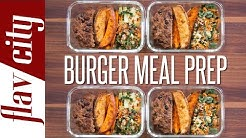 Healthy Burger Meal Prep – Easy Meal Prep Recipes
