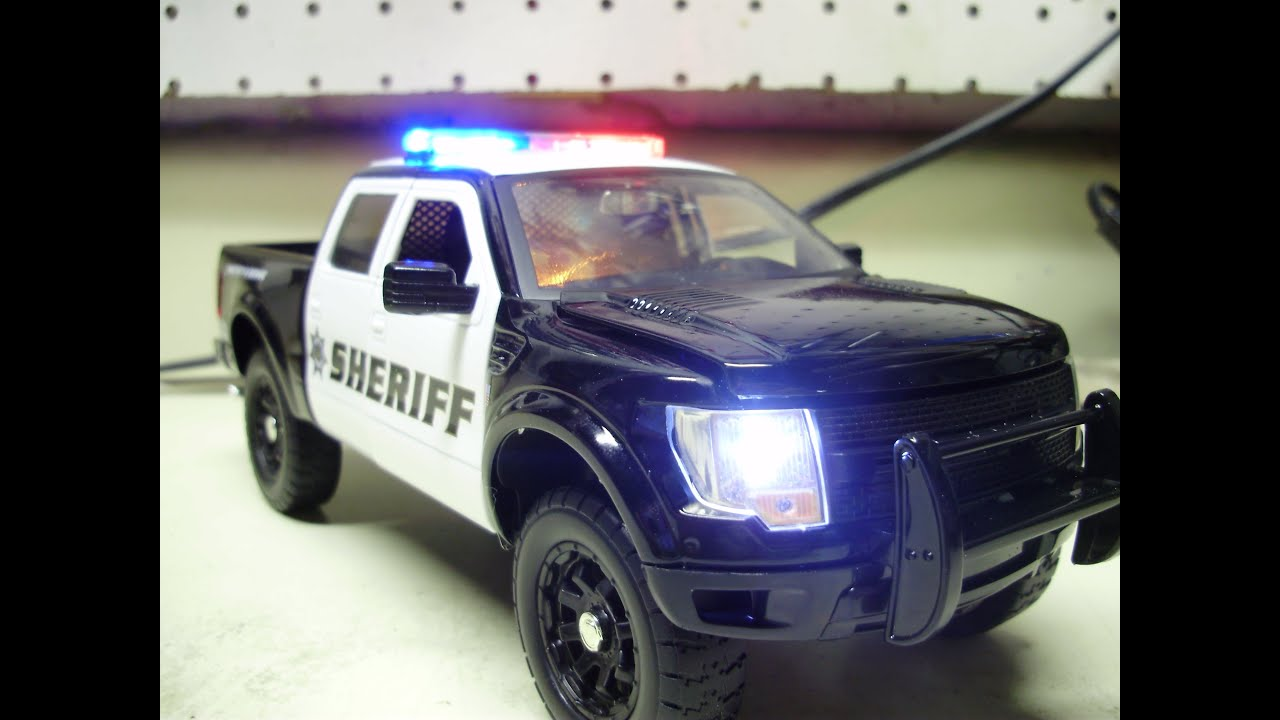Ed s custom Sheriff s Department FORD RAPTOR w working lights