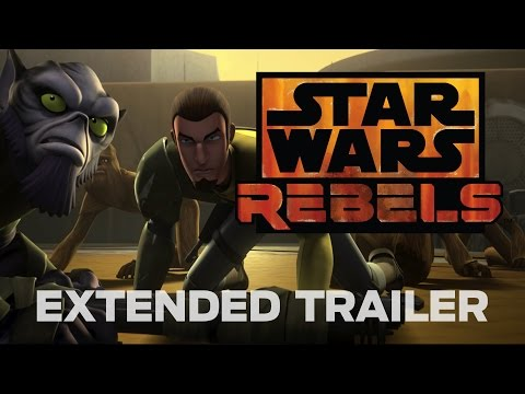 Star Wars Rebels Extended Trailer (Official)