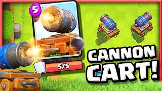GET A CANNON CART!! • Clash Royale Cannon Cart Challenge
